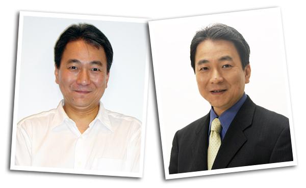 松苗 慎一郎(左:着任直後 右:着任4ヵ月)